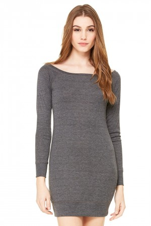 Bella+Canvas: Lightweight Sweater Dress 8822 – Bild 3
