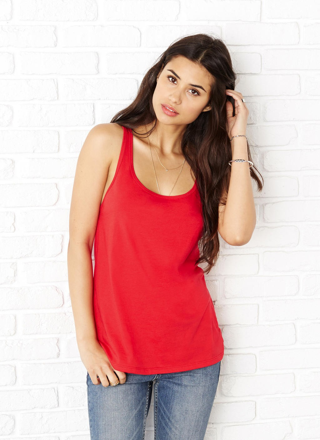 Bella+Canvas: Women`s Relaxed Jersey Tank 6488