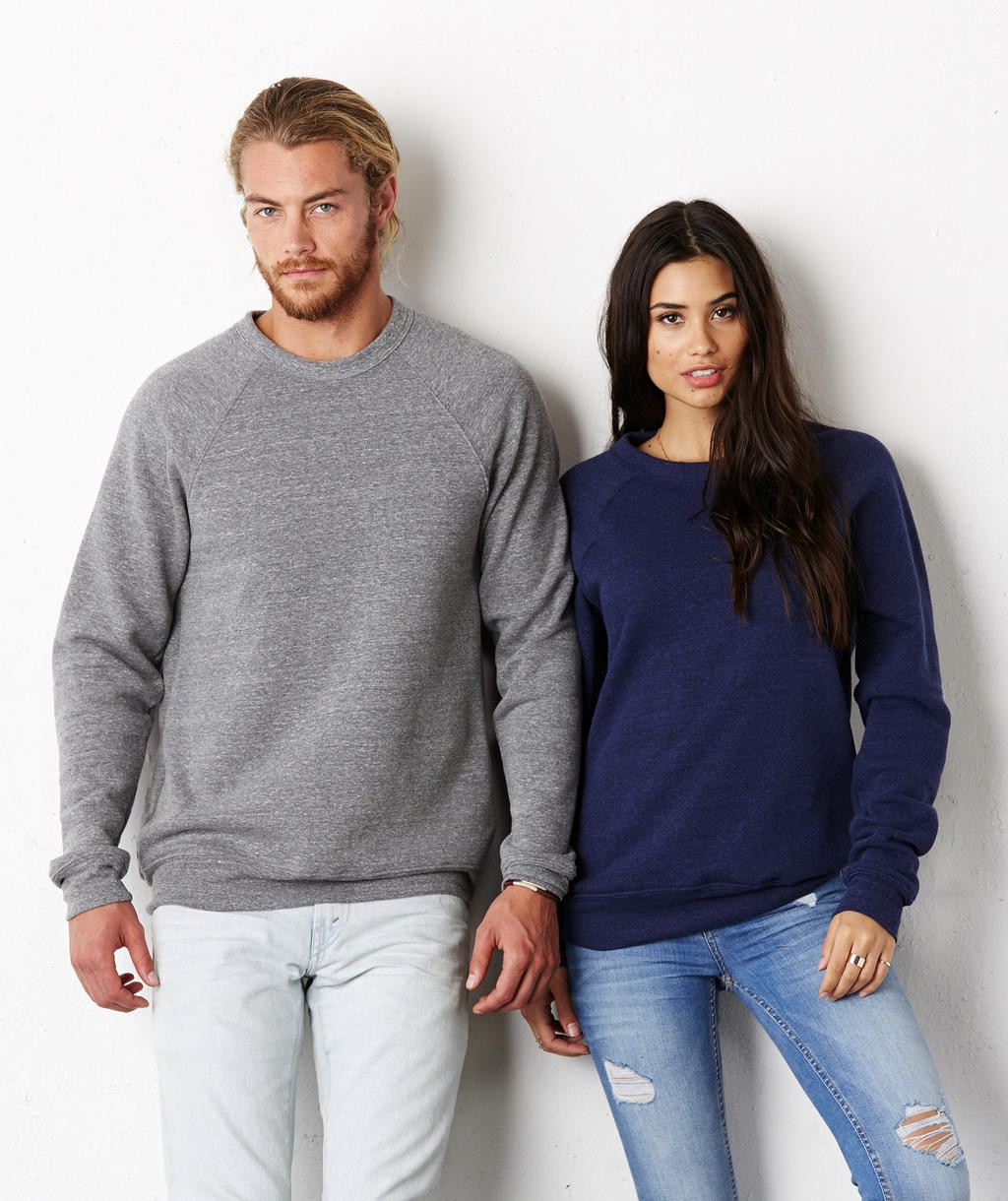 Bella+Canvas: Unisex Sponge Crew Neck Sweat 3901
