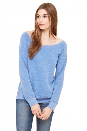 Bella+Canvas: Sponge Fleece Wideneck Sweatshirt 7501 – Bild 9