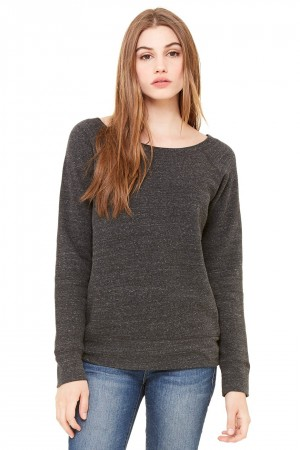 Bella+Canvas: Sponge Fleece Wideneck Sweatshirt 7501 – Bild 7
