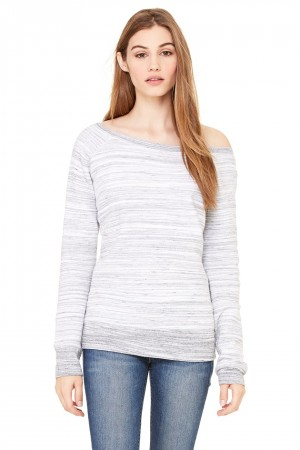Bella+Canvas: Sponge Fleece Wideneck Sweatshirt 7501 – Bild 5