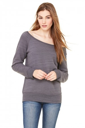 Bella+Canvas: Sponge Fleece Wideneck Sweatshirt 7501 – Bild 6