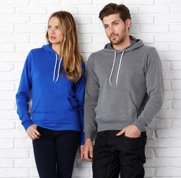 Bella+Canvas: Unisex Poly-Cotton Pullover Hoodie 3719 – Bild 1
