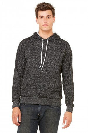 Bella+Canvas: Unisex Poly-Cotton Pullover Hoodie 3719 – Bild 4