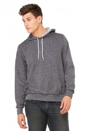 Bella+Canvas: Unisex Poly-Cotton Pullover Hoodie 3719 – Bild 6