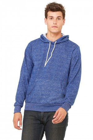 Bella+Canvas: Unisex Poly-Cotton Pullover Hoodie 3719 – Bild 11