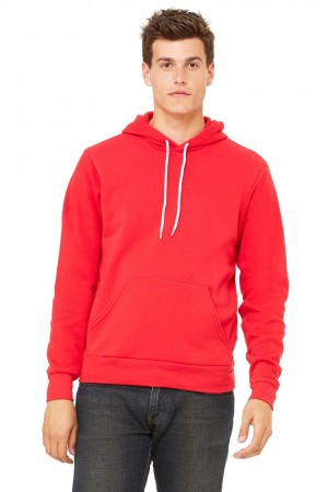 Bella+Canvas: Unisex Poly-Cotton Pullover Hoodie 3719 – Bild 12