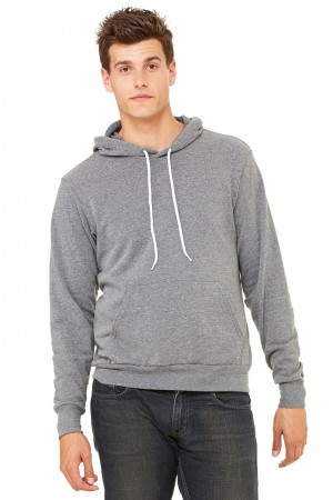 Bella+Canvas: Unisex Poly-Cotton Pullover Hoodie 3719 – Bild 7
