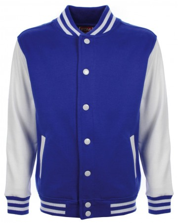 FDM: Kids` College Jacket FV002 – Bild 8
