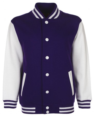 FDM: Kids` College Jacket FV002 – Bild 9