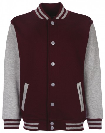 FDM: Kids` College Jacket FV002 – Bild 12