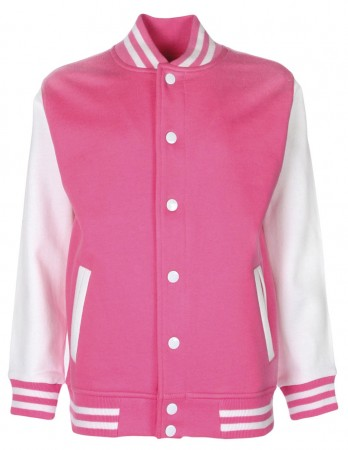 FDM: Kids` College Jacket FV002 – Bild 13