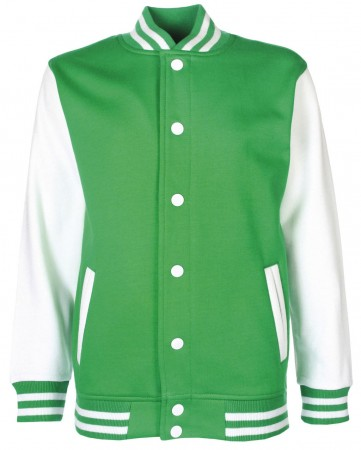 FDM: Kids` College Jacket FV002 – Bild 14