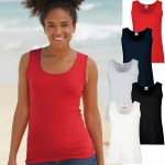 Fruit of the Loom: Lady-Fit Valueweight Vest 61-376-0 001