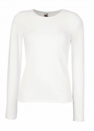 Fruit of the Loom: Lady-Fit Long Sleeve Crew Neck T 61-384-0 – Bild 2