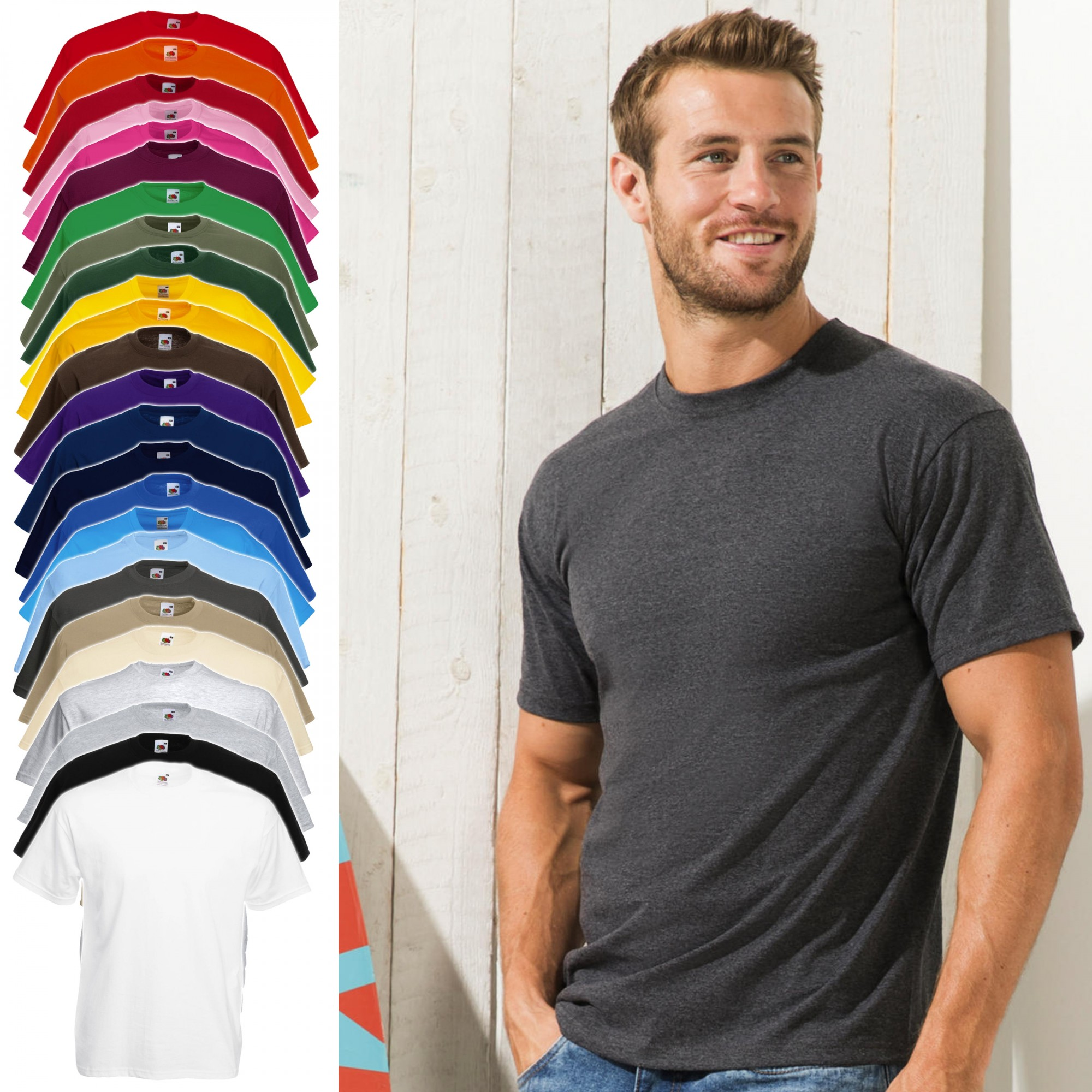Fruit of the Loom: Valueweight Tee 61-036-0