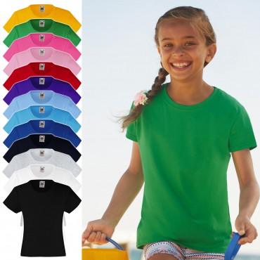 Fruit of the Loom: Girls` Valueweight T 61-005-0 – Bild 1