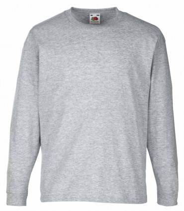Fruit of the Loom: Valueweight Long Sleeve T Kids 61-007-0 – Bild 4