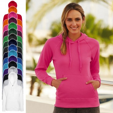 Fruit of the Loom: Lady-Fit Lightweight Hooded Sweat 62-148-0 – Bild 1