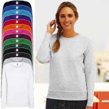 Fruit of the Loom: Lady-Fit Lightweight Raglan Sweat 62-146-0 – Bild 1