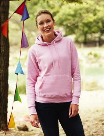 Fruit of the Loom: Lady-Fit Hooded Sweat 62-038-0 – Bild 1