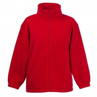 Fruit of the Loom: Kids` Fleece Jacke 62-511-0 – Bild 5