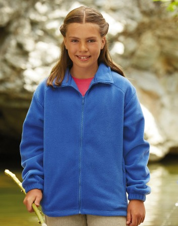 Fruit of the Loom: Kids` Fleece Jacke 62-511-0 – Bild 1