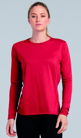 Gildan: Performance Ladies` LS T-Shirt 42400L – Bild 1