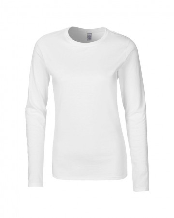 Gildan: Ladies` Softstyle T-Shirt LS 64400L – Bild 2