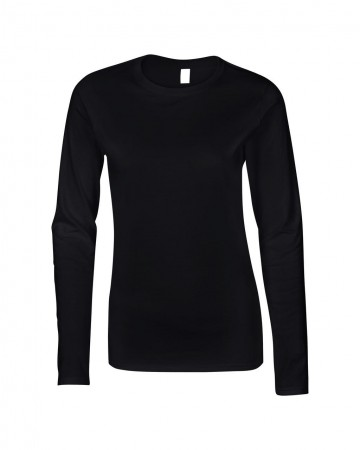 Gildan: Ladies` Softstyle T-Shirt LS 64400L – Bild 3