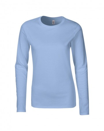 Gildan: Ladies` Softstyle T-Shirt LS 64400L – Bild 7