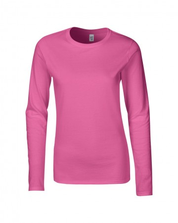 Gildan: Ladies` Softstyle T-Shirt LS 64400L – Bild 9