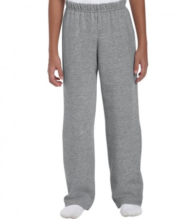 Gildan: Kids` Heavy Open Sweatpant 18400B – Bild 3