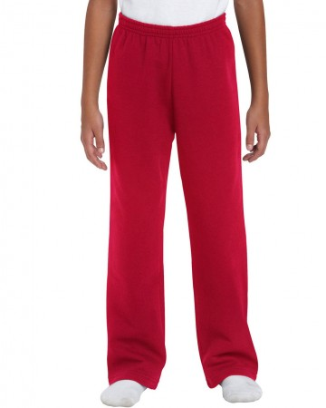 Gildan: Kids` Heavy Open Sweatpant 18400B – Bild 5