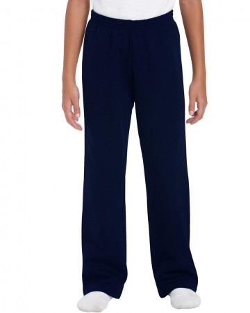Gildan: Kids` Heavy Open Sweatpant 18400B – Bild 4