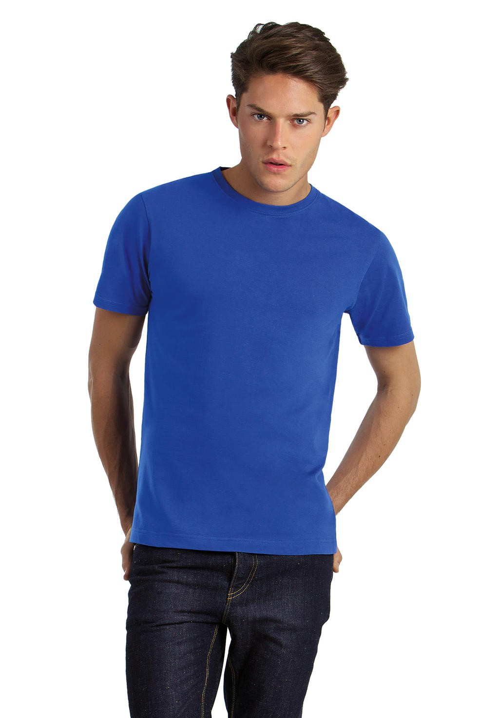 B&C: Men`s Crew Neck Exact 190 Top Men TM050