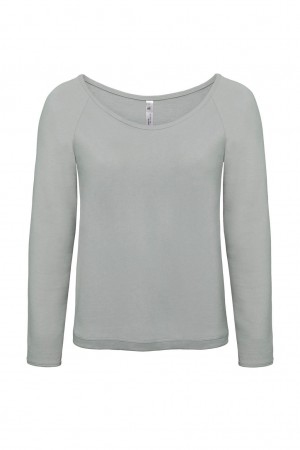 B&C: Ladies` Summer Sweatshirt Eden Women WWS44 – Bild 4