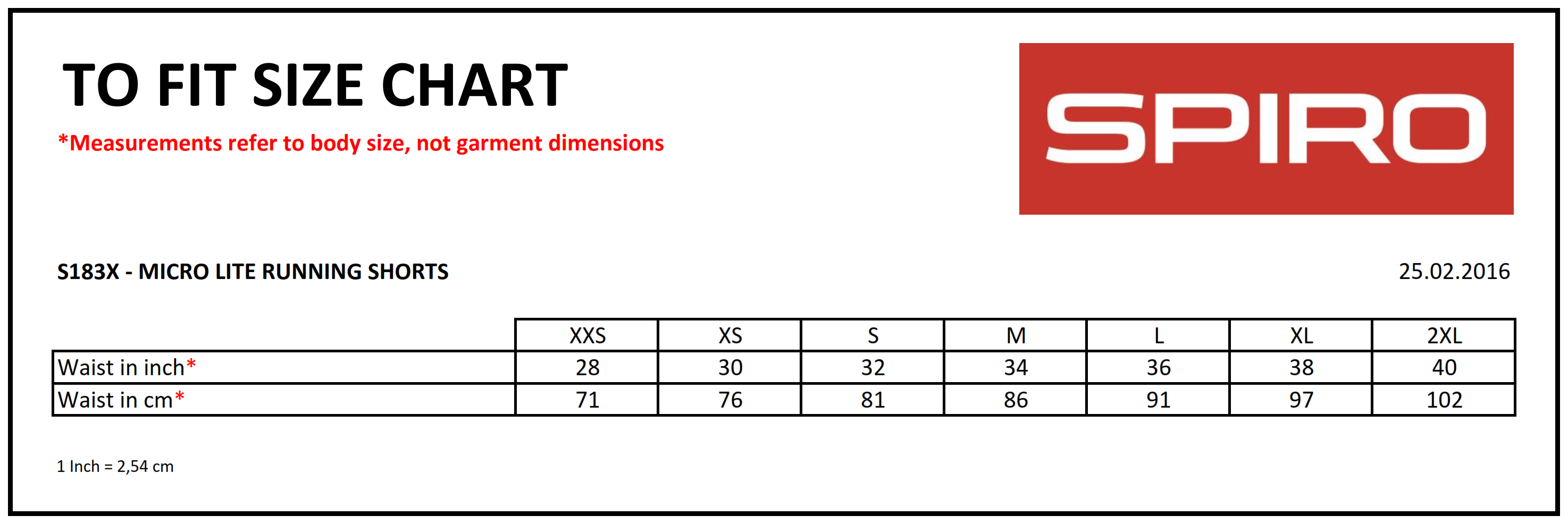 Result: Spiro Micro Lite Running Shorts R183X