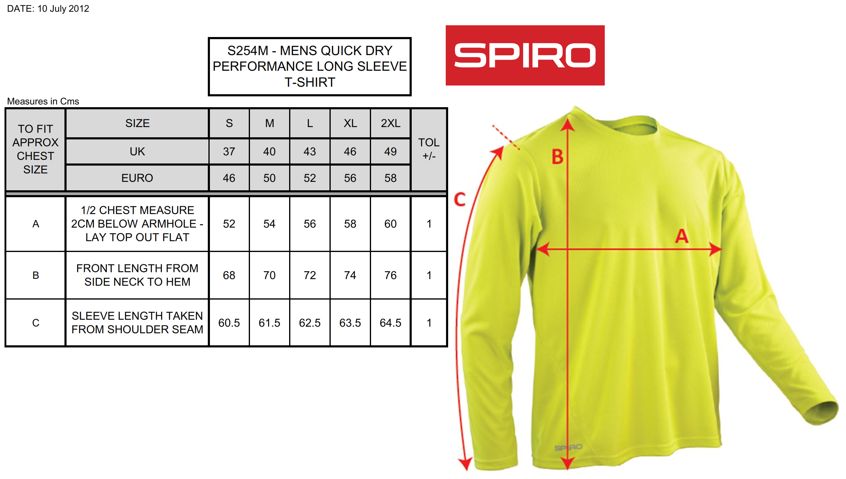 Result: Performance T-Shirt LS S254M