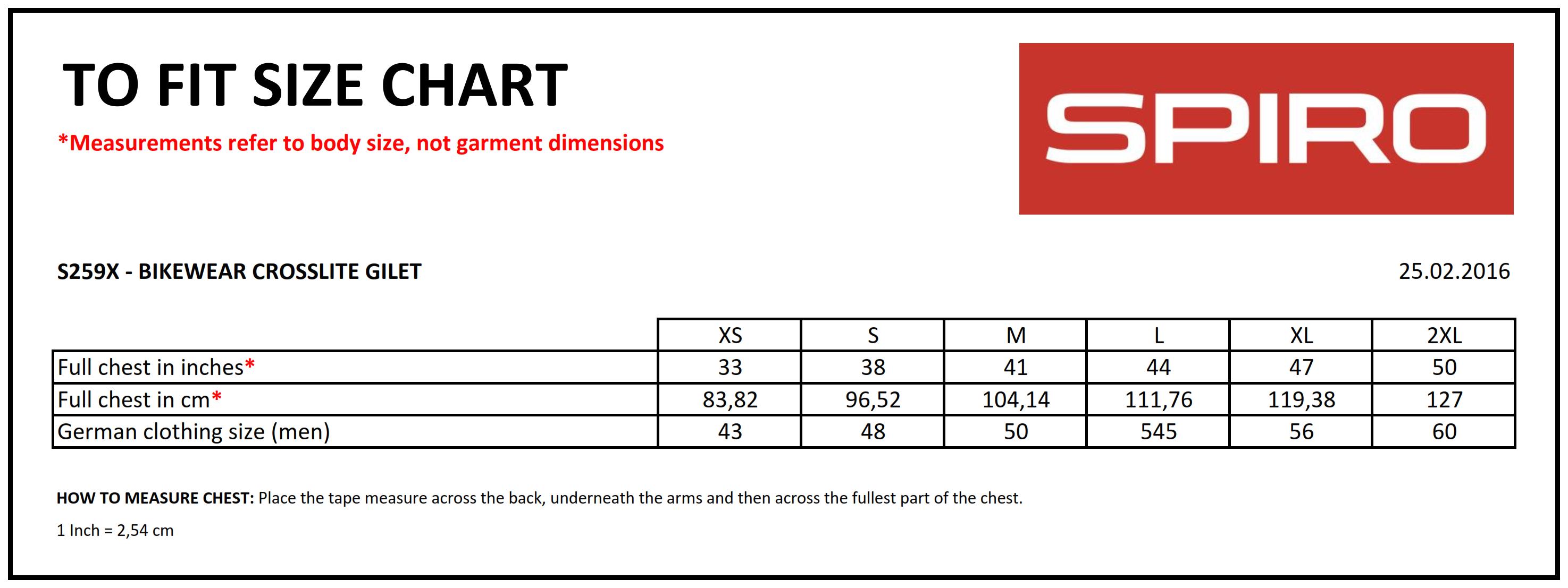 Result: Spiro Bikewear Crosslite Gilet S259X