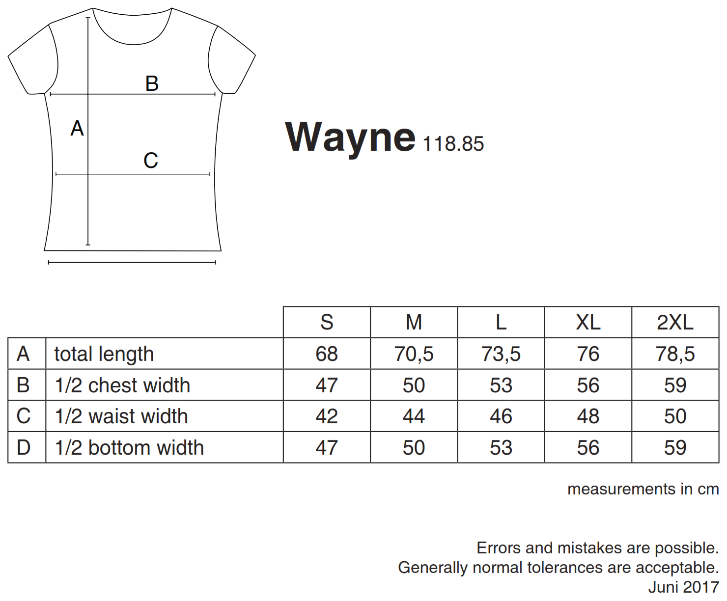 nakedshirt: Wayne Men`s Organic Fitted T-Shirt TM-SSL-R-OG013