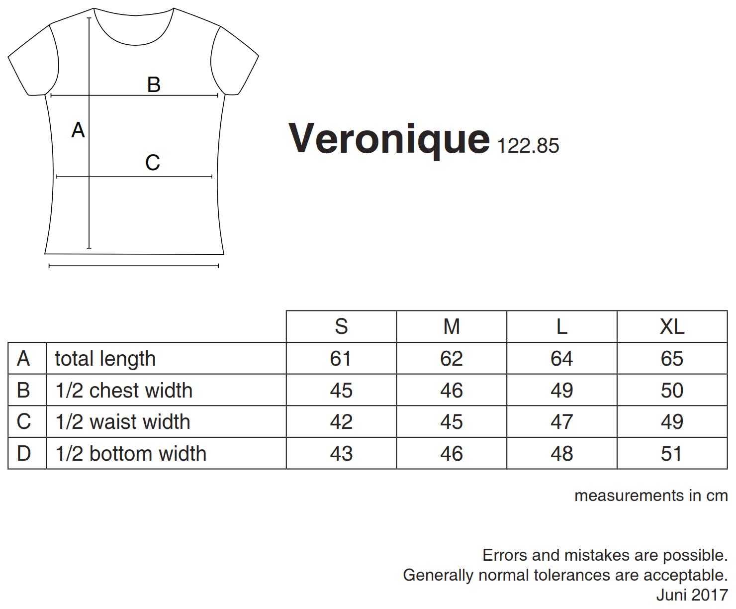 nakedshirt: Veronique Women`s V-Neck T-Shirt TF-SSL-V-CO115