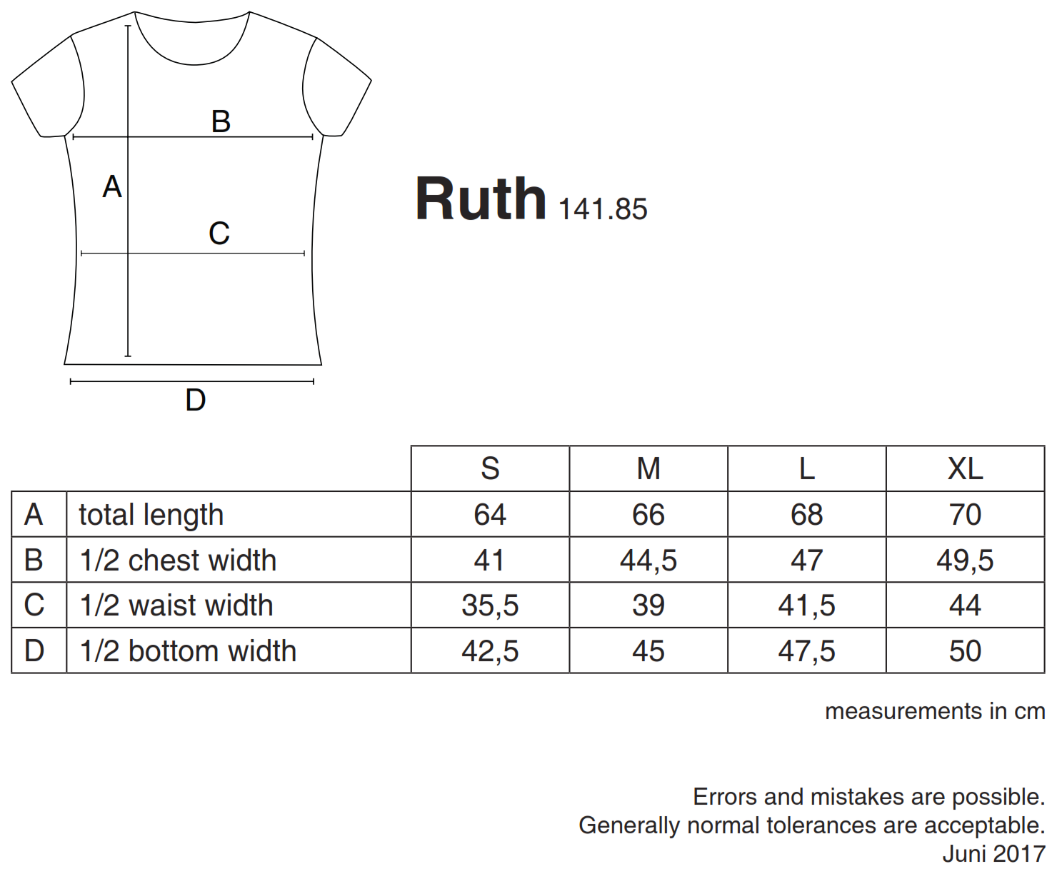 nakedshirt: Ruth Women`s Organic Fitted T-Shirt TF-SSL-R-OG113