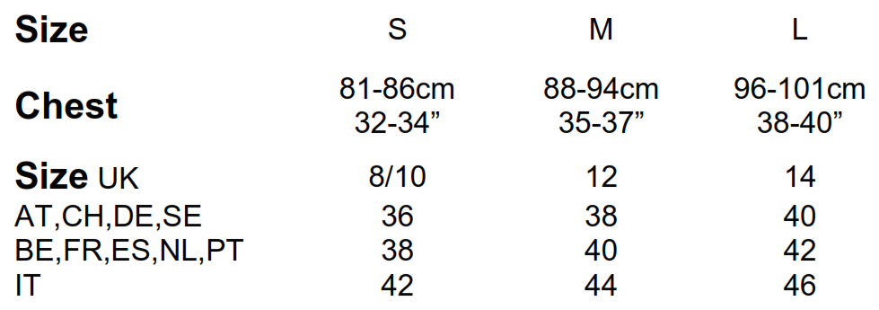 Mantis: Women`s Long Length Sweat M121