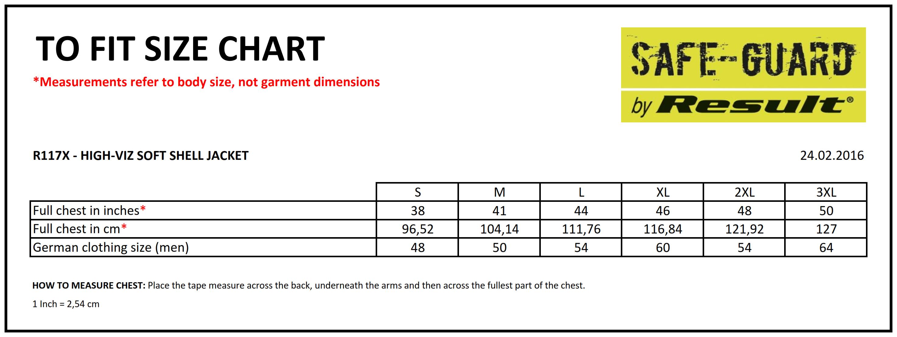 Result: High-Viz Soft Shell Jacket R117