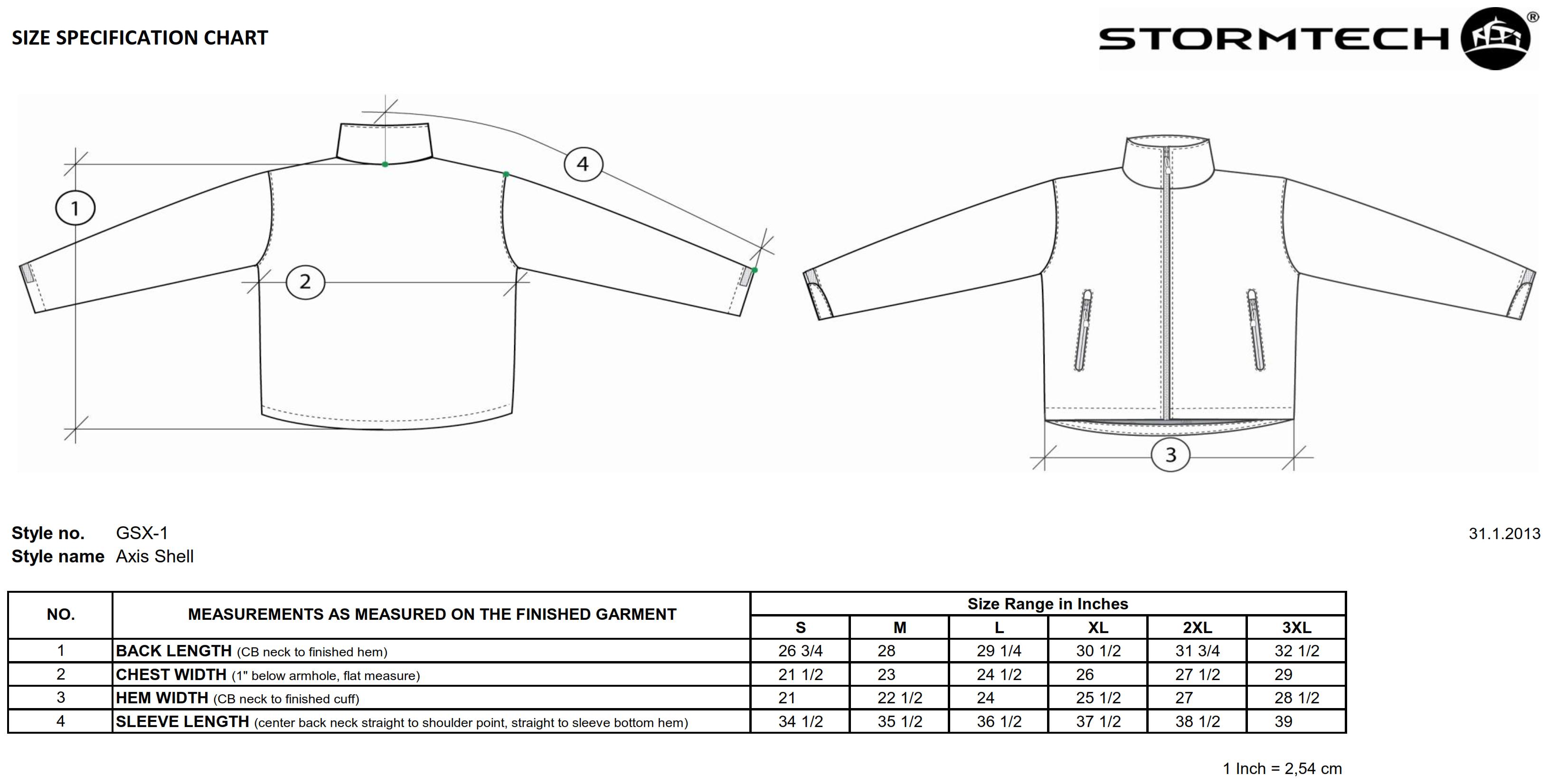 StormTech: Axis Shell GSX-1