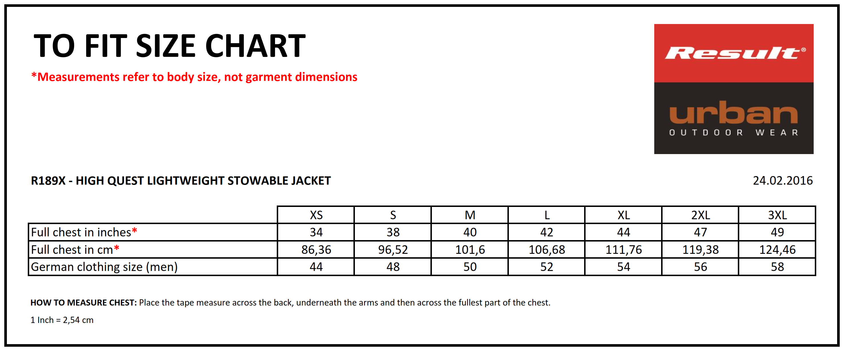 Result: Hdi Quest Lightweight Stowable Jacket R189X